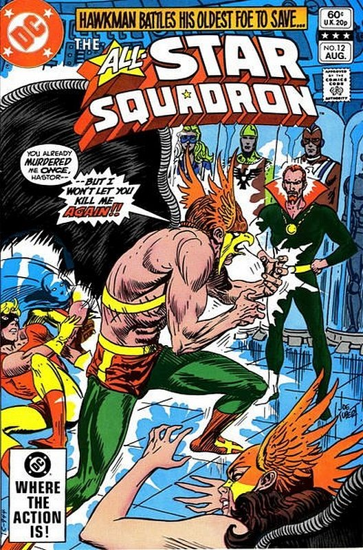 Cover of All-Star Squadron (Vol 1) #12. One of 250,000 Vintage American Comics on sale from Krypton!