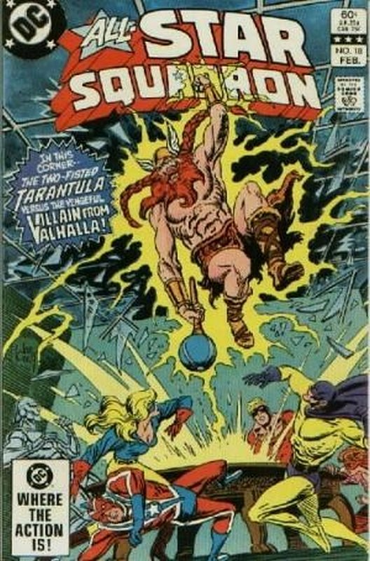 Cover of All-Star Squadron (Vol 1) #18. One of 250,000 Vintage American Comics on sale from Krypton!