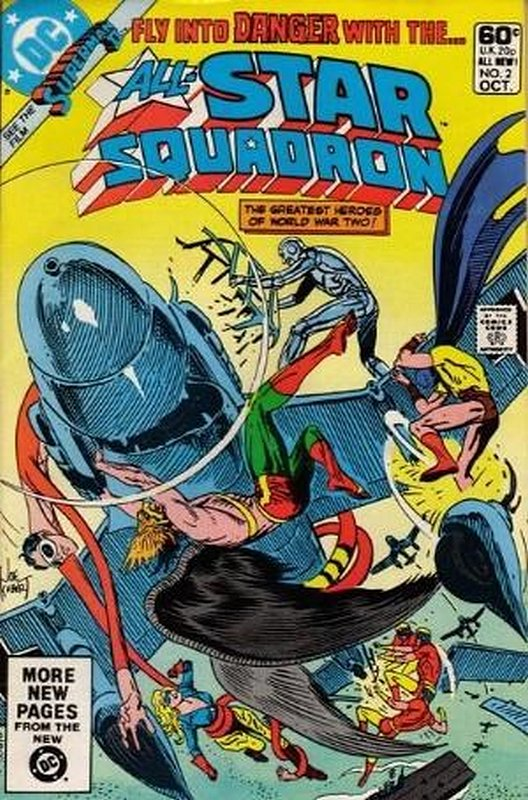 Cover of All-Star Squadron (Vol 1) #2. One of 250,000 Vintage American Comics on sale from Krypton!