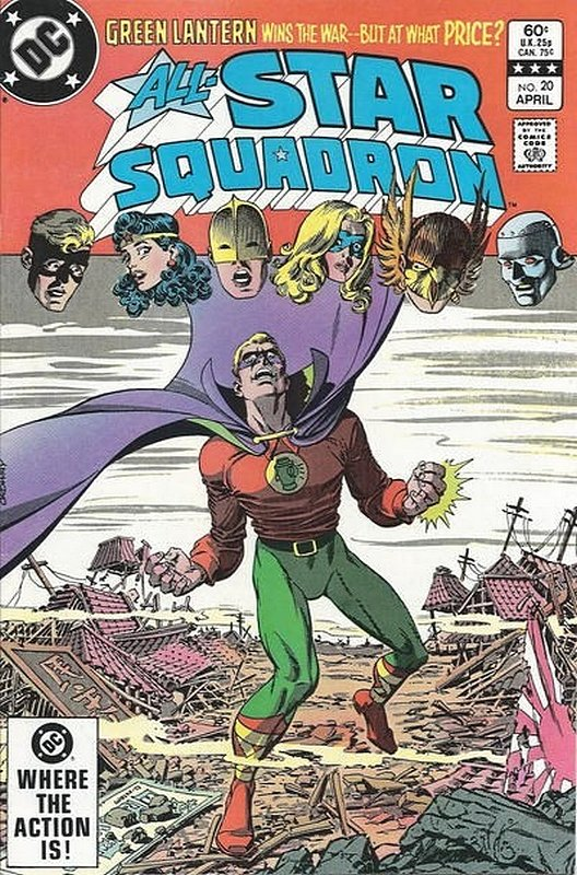 Cover of All-Star Squadron (Vol 1) #20. One of 250,000 Vintage American Comics on sale from Krypton!