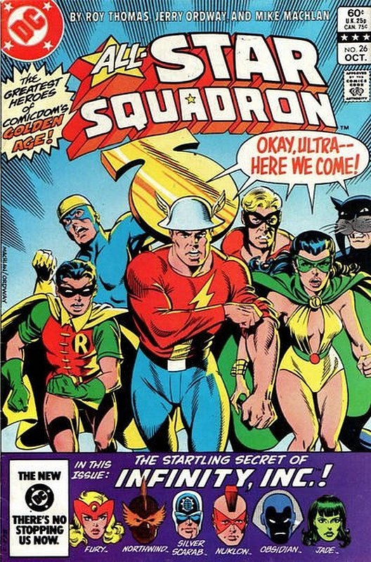 Cover of All-Star Squadron (Vol 1) #26. One of 250,000 Vintage American Comics on sale from Krypton!