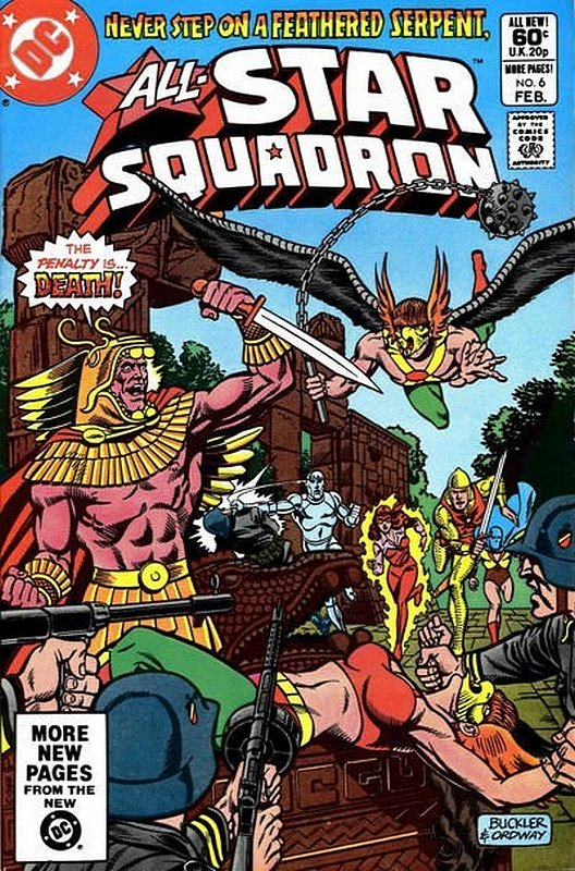 Cover of All-Star Squadron (Vol 1) #6. One of 250,000 Vintage American Comics on sale from Krypton!