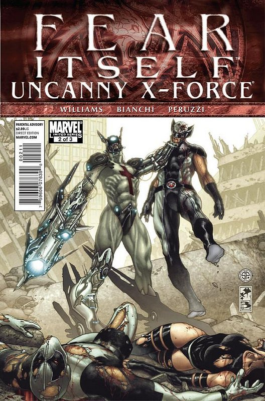 Cover of Fear Itself: Uncanny X-Force (2011 Ltd) #2. One of 250,000 Vintage American Comics on sale from Krypton!