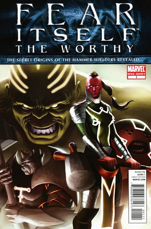 Cover of Fear Itself: The Worthy (2011 One Shot) #1. One of 250,000 Vintage American Comics on sale from Krypton!