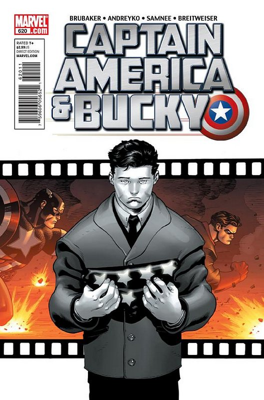 Cover of Captain America & Bucky #620. One of 250,000 Vintage American Comics on sale from Krypton!
