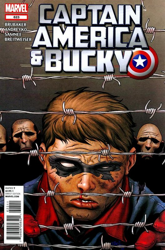 Cover of Captain America & Bucky #623. One of 250,000 Vintage American Comics on sale from Krypton!