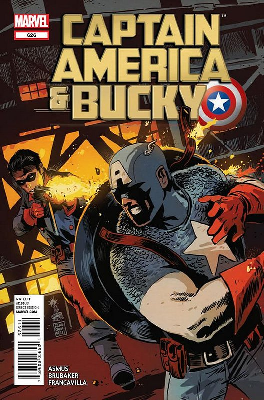 Cover of Captain America & Bucky #626. One of 250,000 Vintage American Comics on sale from Krypton!