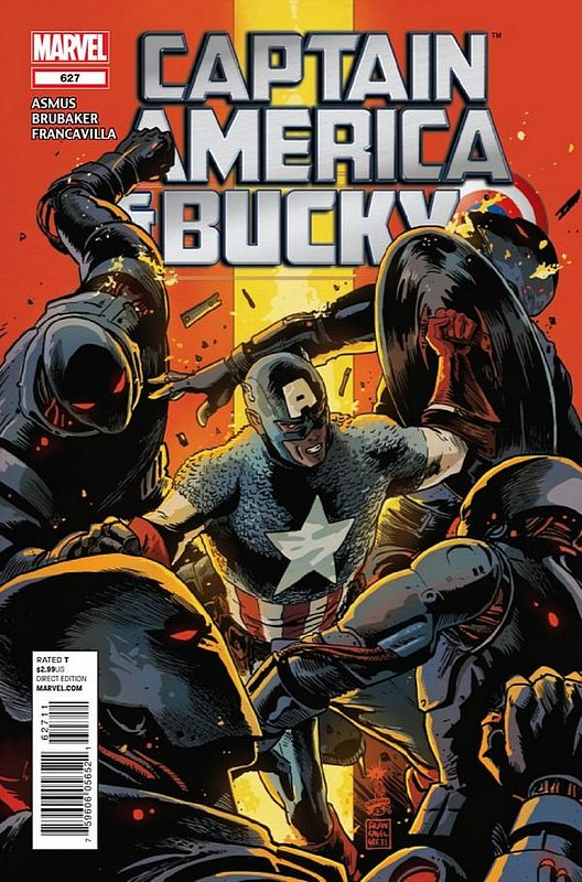 Cover of Captain America & Bucky #627. One of 250,000 Vintage American Comics on sale from Krypton!