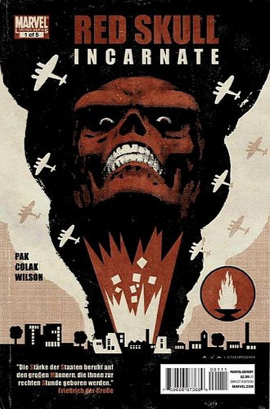 Cover of Red Skull (2011 Ltd) #1. One of 250,000 Vintage American Comics on sale from Krypton!