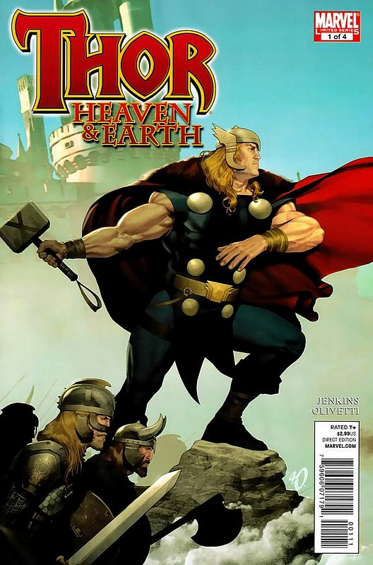 Cover of Thor: Heaven & Earth (2011 Ltd) #1. One of 250,000 Vintage American Comics on sale from Krypton!