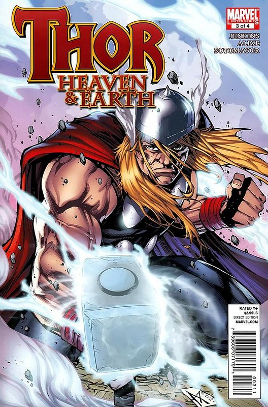 Cover of Thor: Heaven & Earth (2011 Ltd) #3. One of 250,000 Vintage American Comics on sale from Krypton!
