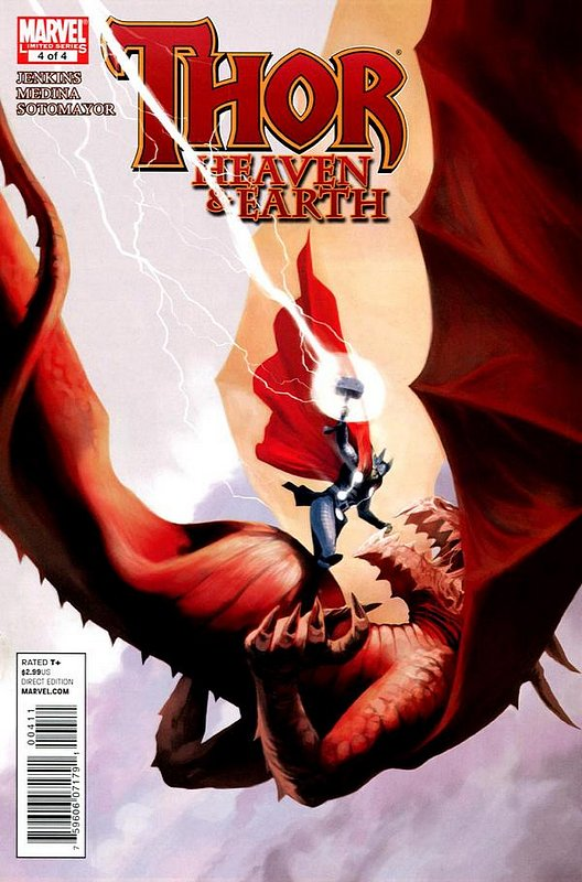 Cover of Thor: Heaven & Earth (2011 Ltd) #4. One of 250,000 Vintage American Comics on sale from Krypton!