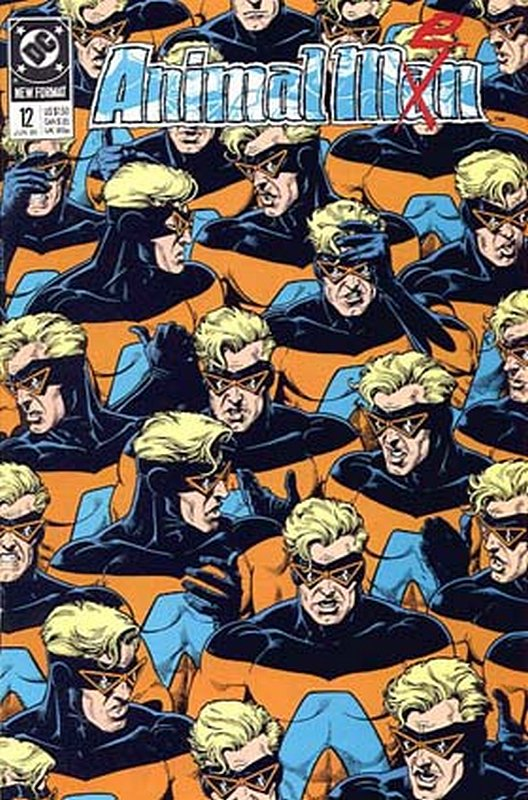 Cover of Animal Man (Vol 1) #12. One of 250,000 Vintage American Comics on sale from Krypton!