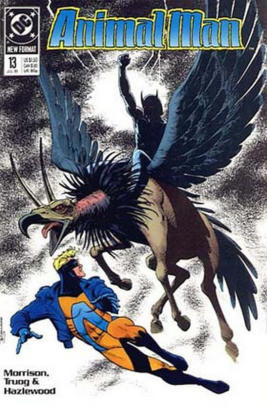 Cover of Animal Man (Vol 1) #13. One of 250,000 Vintage American Comics on sale from Krypton!