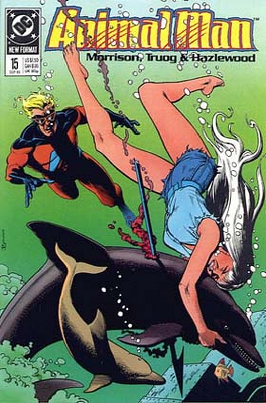 Cover of Animal Man (Vol 1) #15. One of 250,000 Vintage American Comics on sale from Krypton!