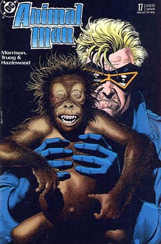 Cover of Animal Man (Vol 1) #17. One of 250,000 Vintage American Comics on sale from Krypton!