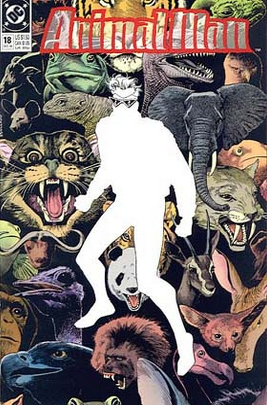 Cover of Animal Man (Vol 1) #18. One of 250,000 Vintage American Comics on sale from Krypton!
