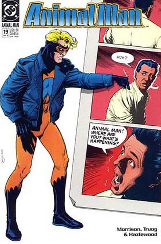 Cover of Animal Man (Vol 1) #19. One of 250,000 Vintage American Comics on sale from Krypton!