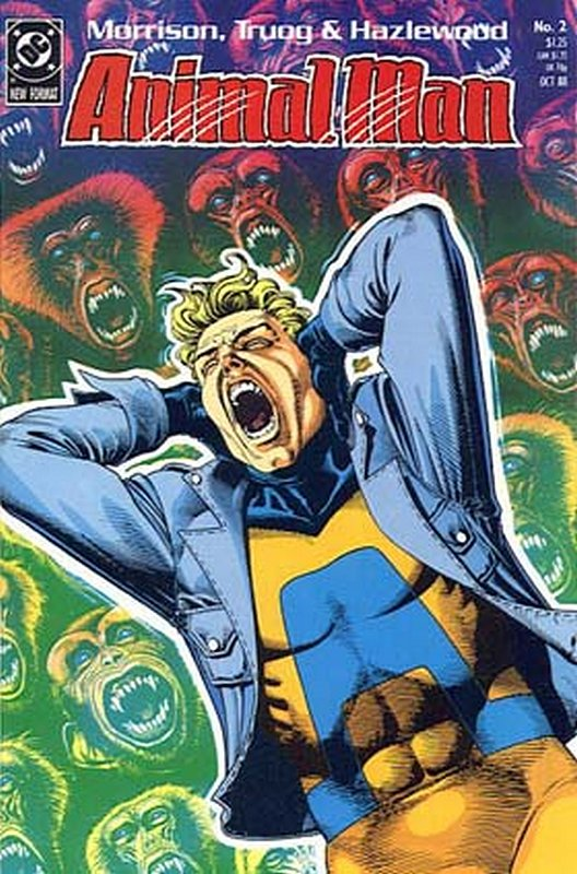 Cover of Animal Man (Vol 1) #2. One of 250,000 Vintage American Comics on sale from Krypton!