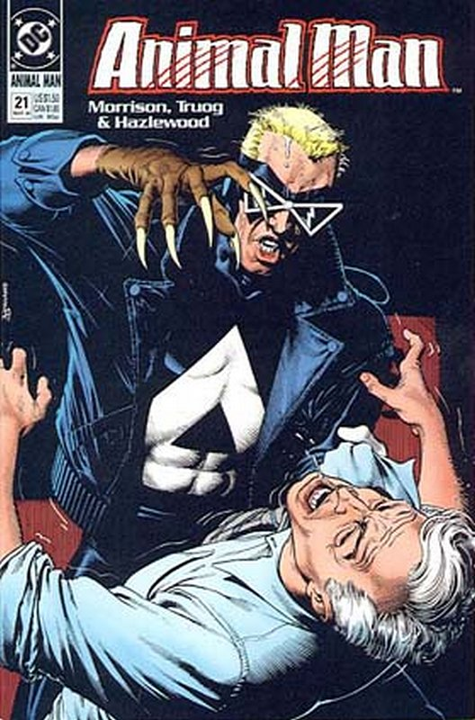 Cover of Animal Man (Vol 1) #21. One of 250,000 Vintage American Comics on sale from Krypton!