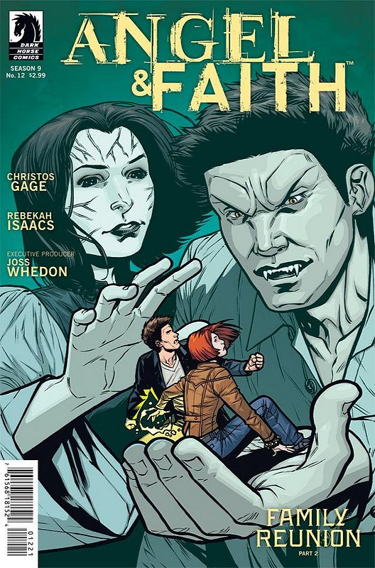 Cover of Angel & Faith #12. One of 250,000 Vintage American Comics on sale from Krypton!