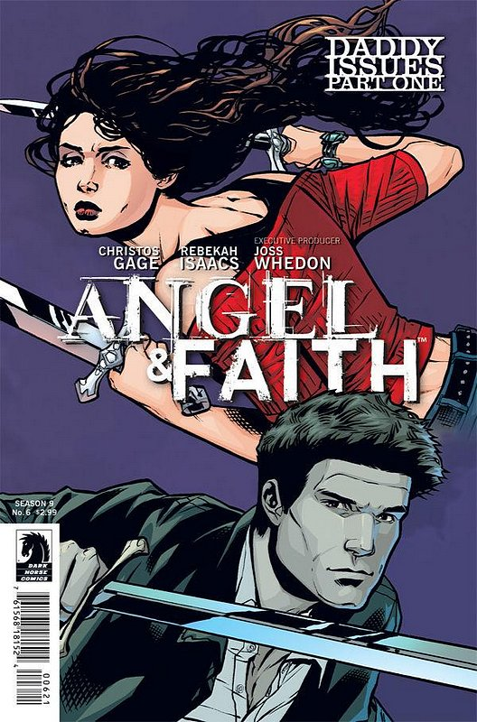 Cover of Angel & Faith #6. One of 250,000 Vintage American Comics on sale from Krypton!