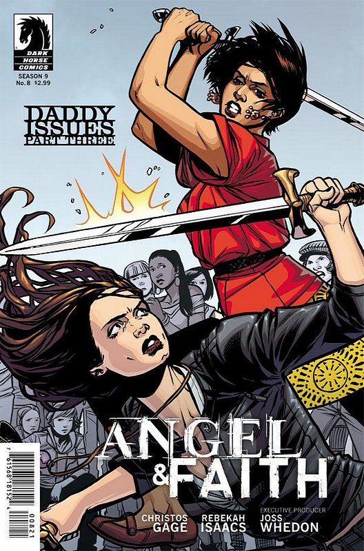 Cover of Angel & Faith #8. One of 250,000 Vintage American Comics on sale from Krypton!