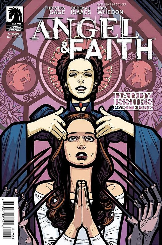 Cover of Angel & Faith #9. One of 250,000 Vintage American Comics on sale from Krypton!