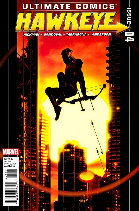 Cover of Ultimate Comics Hawkeye (2011 Ltd) #4. One of 250,000 Vintage American Comics on sale from Krypton!