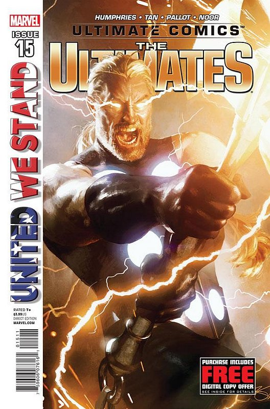 Cover of Ultimate Comics Ultimates (Vol 1) #15. One of 250,000 Vintage American Comics on sale from Krypton!