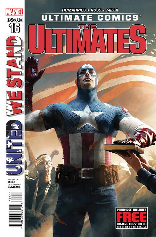 Cover of Ultimate Comics Ultimates (Vol 1) #16. One of 250,000 Vintage American Comics on sale from Krypton!