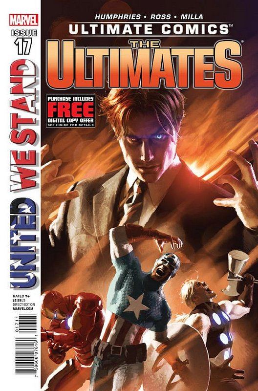 Cover of Ultimate Comics Ultimates (Vol 1) #17. One of 250,000 Vintage American Comics on sale from Krypton!