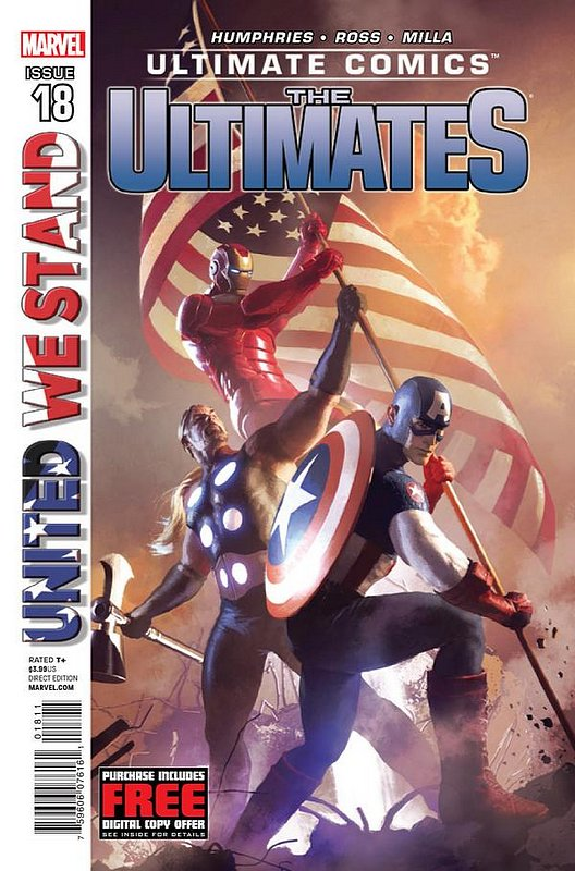 Cover of Ultimate Comics Ultimates (Vol 1) #18. One of 250,000 Vintage American Comics on sale from Krypton!