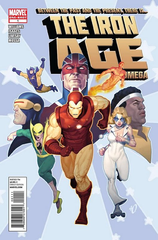 Cover of Iron Age: Omega (2011 One Shot) #1. One of 250,000 Vintage American Comics on sale from Krypton!