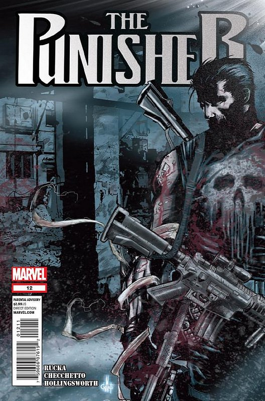 Cover of Punisher (Vol 5) #12. One of 250,000 Vintage American Comics on sale from Krypton!