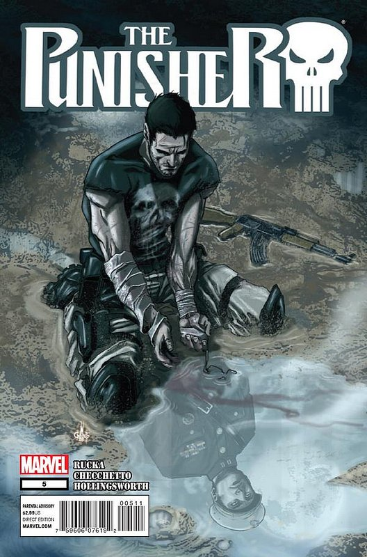 Cover of Punisher (Vol 5) #5. One of 250,000 Vintage American Comics on sale from Krypton!