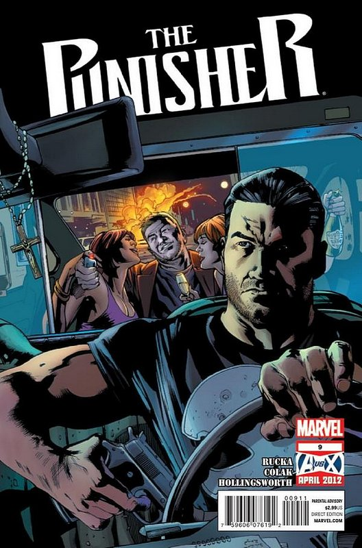 Cover of Punisher (Vol 5) #9. One of 250,000 Vintage American Comics on sale from Krypton!