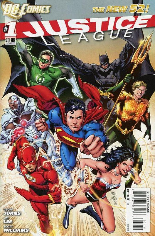 Cover of Justice League (Vol 2) #1. One of 250,000 Vintage American Comics on sale from Krypton!