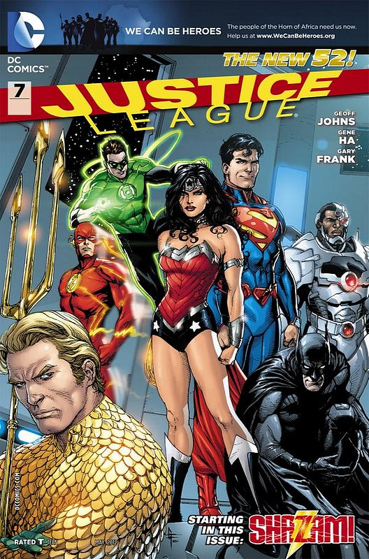 Cover of Justice League (Vol 2) #7. One of 250,000 Vintage American Comics on sale from Krypton!