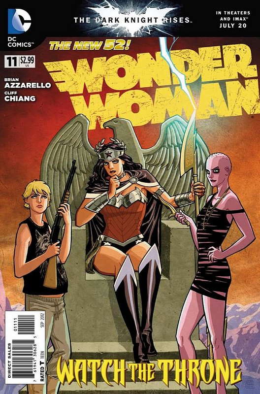 Cover of Wonder Woman (Vol 4) #11. One of 250,000 Vintage American Comics on sale from Krypton!