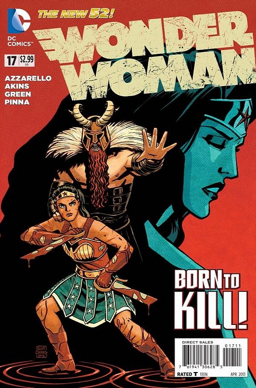 Cover of Wonder Woman (Vol 4) #17. One of 250,000 Vintage American Comics on sale from Krypton!