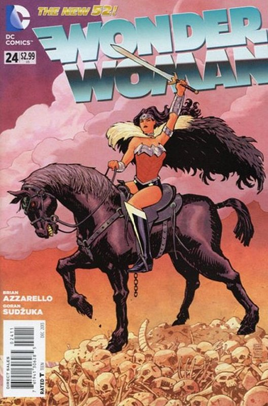 Cover of Wonder Woman (Vol 4) #24. One of 250,000 Vintage American Comics on sale from Krypton!