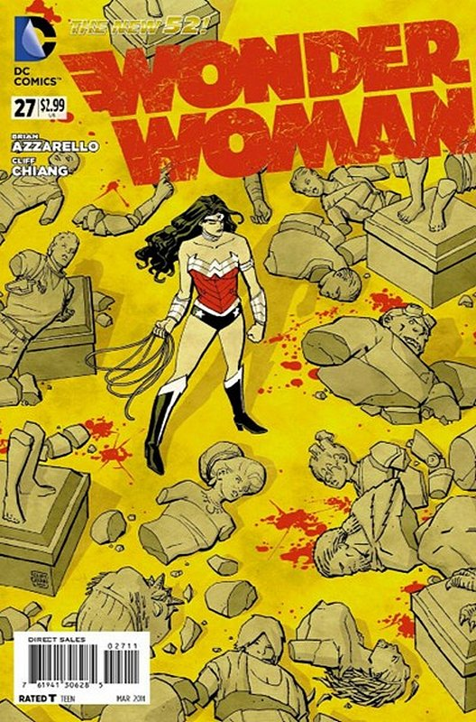 Cover of Wonder Woman (Vol 4) #27. One of 250,000 Vintage American Comics on sale from Krypton!