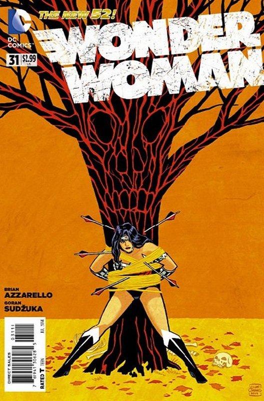 Cover of Wonder Woman (Vol 4) #31. One of 250,000 Vintage American Comics on sale from Krypton!
