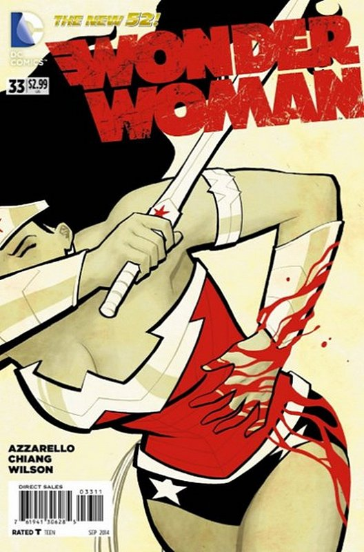 Cover of Wonder Woman (Vol 4) #33. One of 250,000 Vintage American Comics on sale from Krypton!