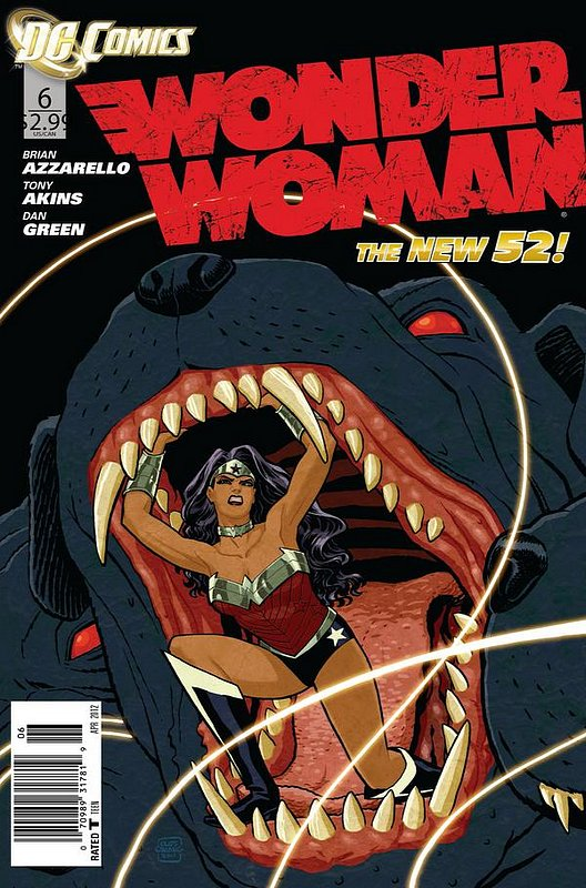 Cover of Wonder Woman (Vol 4) #6. One of 250,000 Vintage American Comics on sale from Krypton!