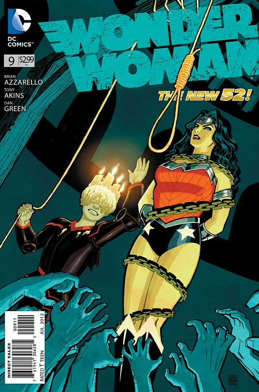 Cover of Wonder Woman (Vol 4) #9. One of 250,000 Vintage American Comics on sale from Krypton!