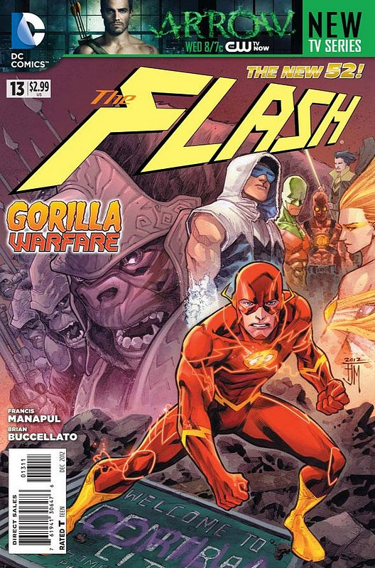 Cover of Flash (Vol 6) #13. One of 250,000 Vintage American Comics on sale from Krypton!