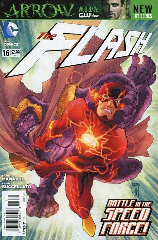 Cover of Flash (Vol 6) #16. One of 250,000 Vintage American Comics on sale from Krypton!