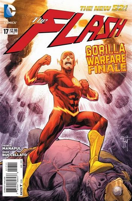 Cover of Flash (Vol 6) #17. One of 250,000 Vintage American Comics on sale from Krypton!